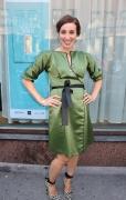 Anni Hautala wearing Jolier Lovely dress